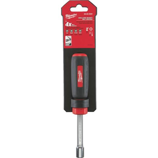 Milwaukee 3/8 In. Nut Driver with 3 In. Hollow Shank