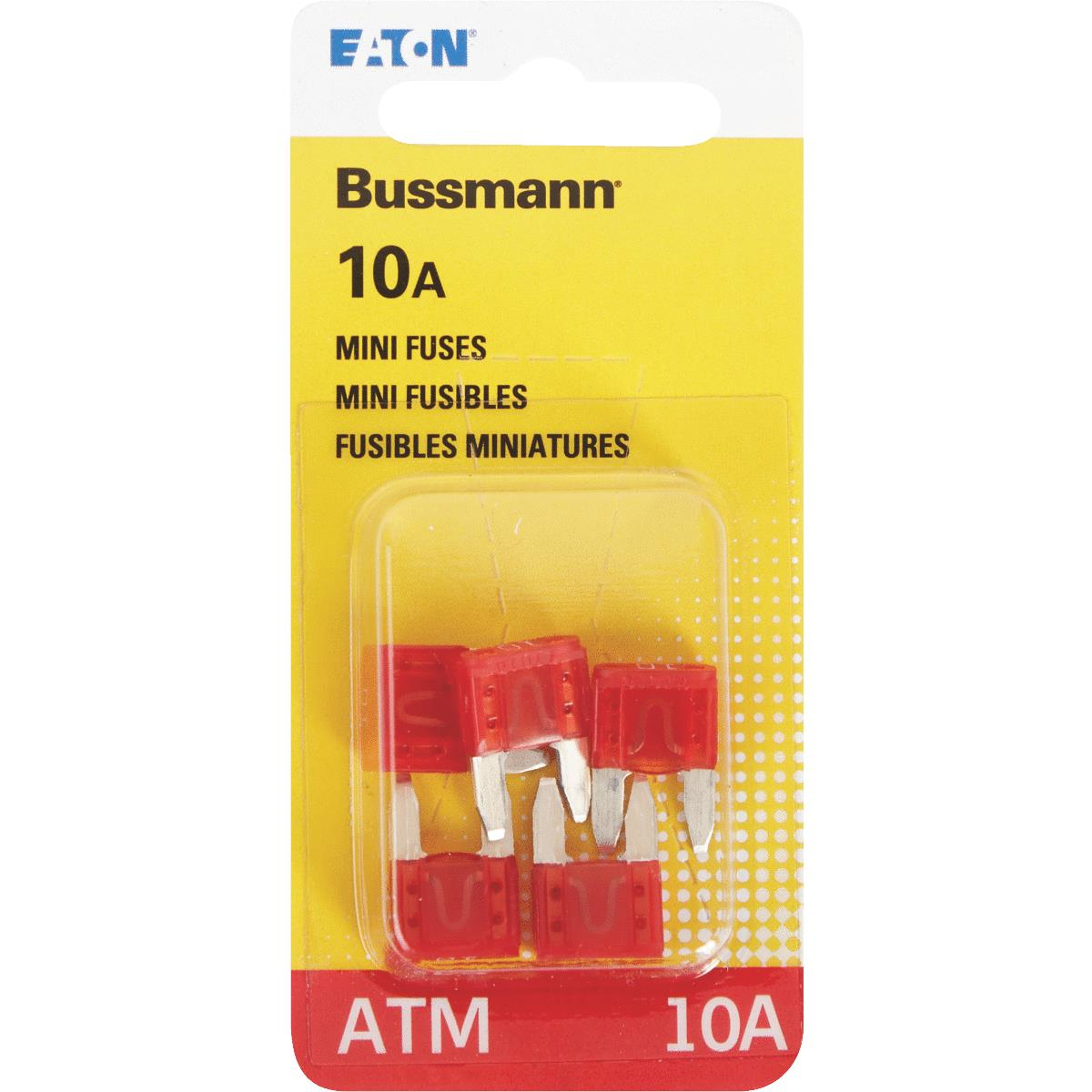 New 10A 10 Amp ATM Mini Blade AUTO Fuse 25 PACK