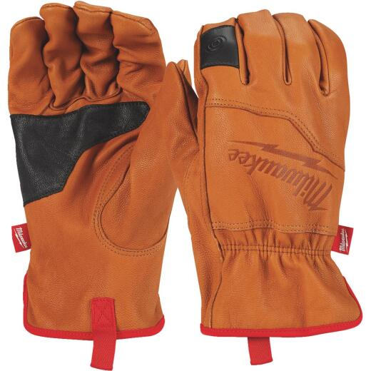 Milwaukee Men's Large Goatskin Leather Work Gloves